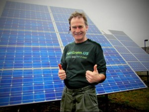 MowGreen Uses and Supports Solar!