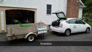 Prius with Trailer Horiz